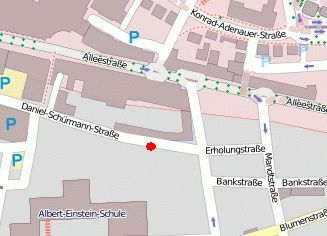 Position in OpenStreetMap